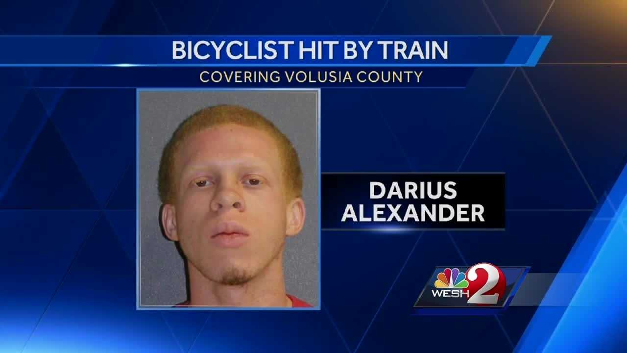 A Volusia County bicyclist was hit by a train and killed Monday night on George Engram Boulevard in Daytona Beach. Claire Metz (@clairemetzwesh) brings us the latest update.