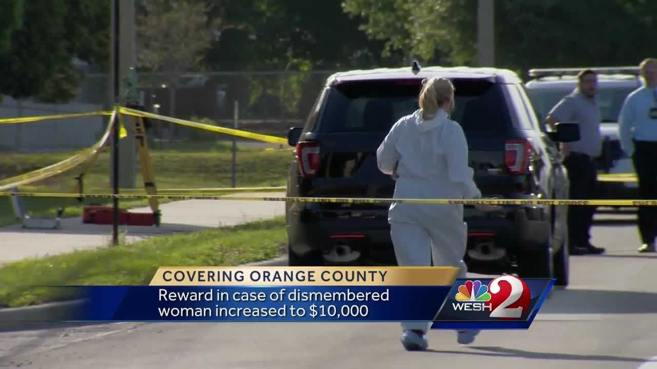 It's a case that's baffling Orange County detectives. The reward for information in the case of a woman whose body was found dismembered is increasing. Michelle Meredith (@MichelleWESH) explains.