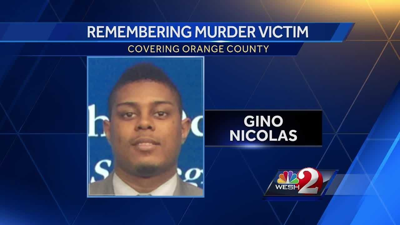 Family and friends on Sunday grieved the death of 24-year-old Gino Nicolas.