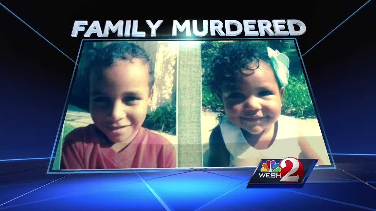 Court records show the murder of a domestic violence victim and her two young children in Seminole County Sunday night followed months of violent turmoil.