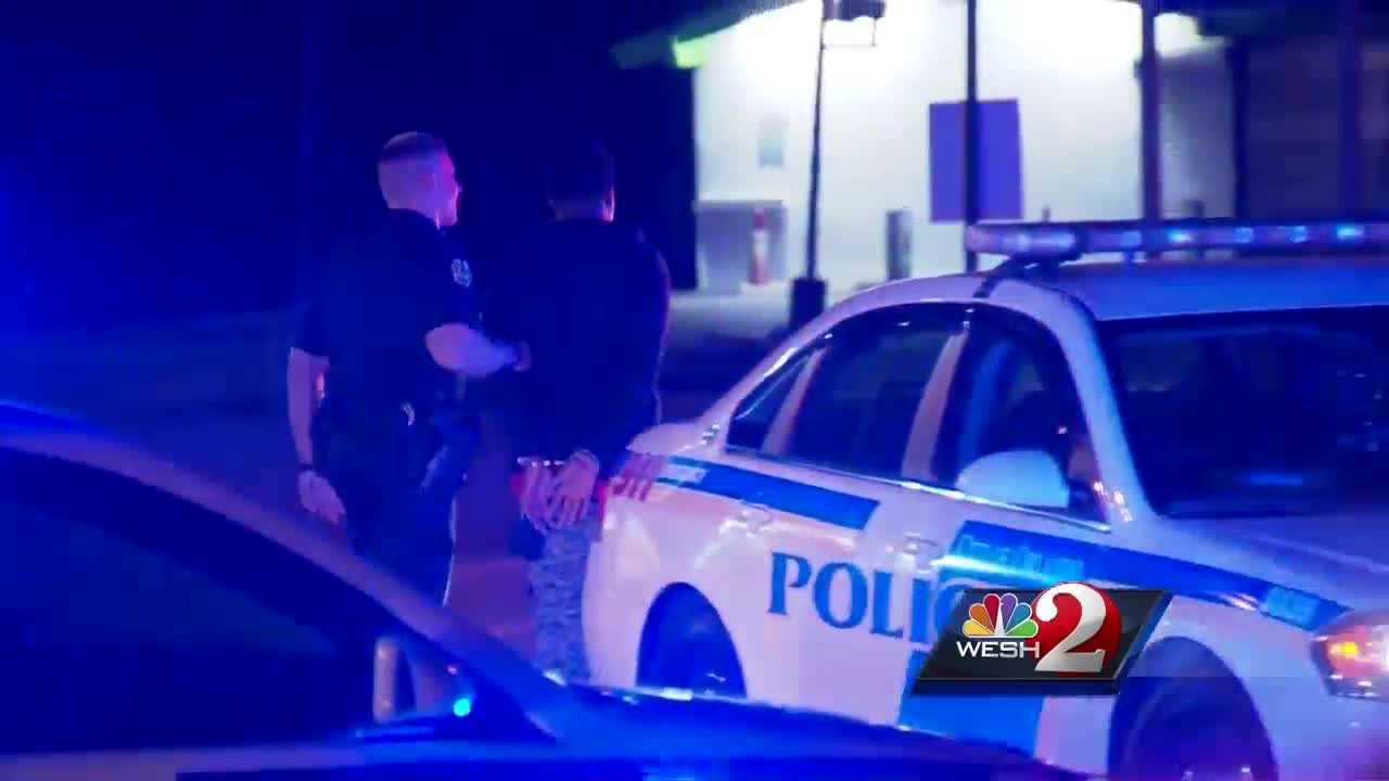WESH 2 News is learning more about a morning crime spree that took place across Orange County. Police say two men were involved in a carjacking and two armed robberies. Gail Paschall-Brown reports.