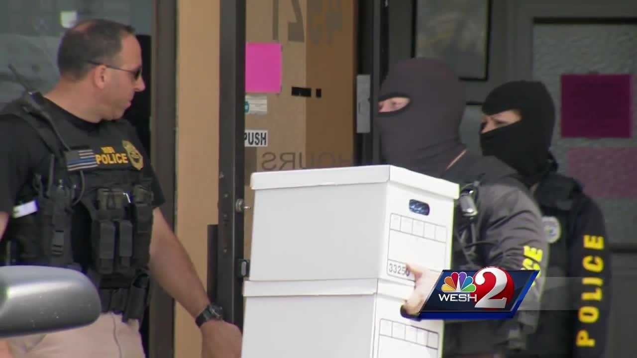 WESH 2 News is learning more about a local pain management clinic, raided by the Metropolitan Bureau of Investigation. Bob Kealing (@bobkealingwesh) has new details.