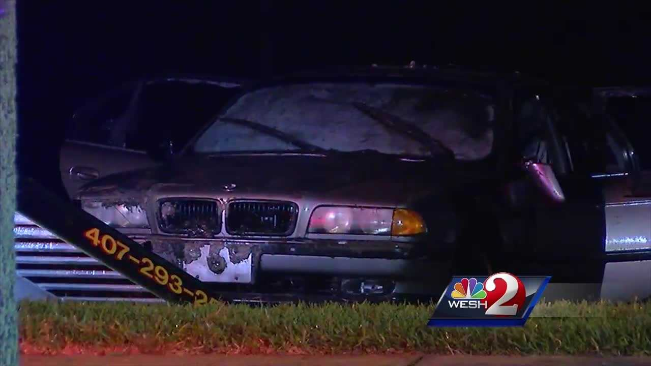 Police have now identified the body of a man who drove into an Orlando retention pond Thursday morning.