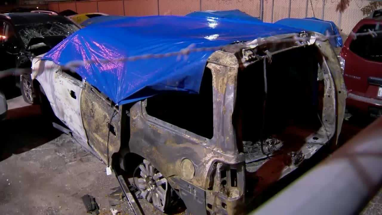 Investigators with the Florida Highway Patrol are hoping DNA evidence and fingerprints can connect the remains of a burned out SUV with a deadly hit-and-run crash.