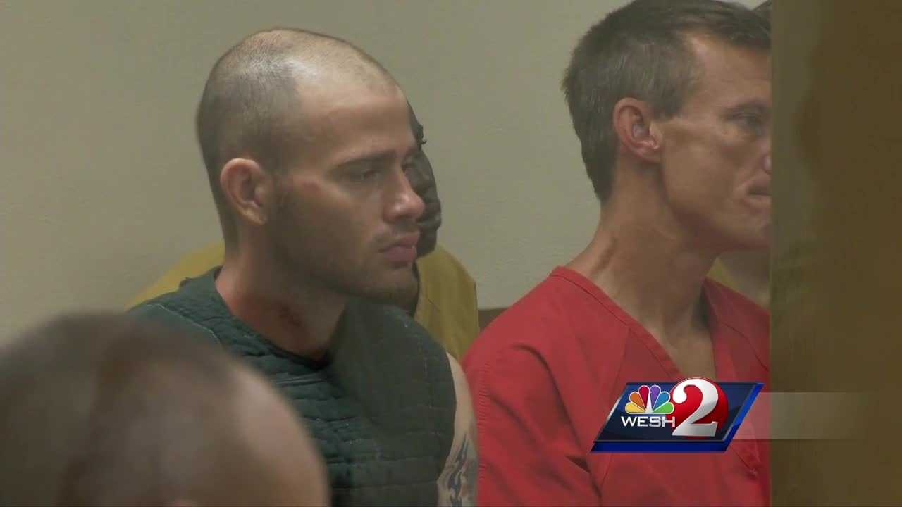 The suspect in the killing of a Palm Bay woman faced a judge for the first time in the case Friday afternoon and will remain in the Brevard County Jail on no bond. Matt Lupoli reports.