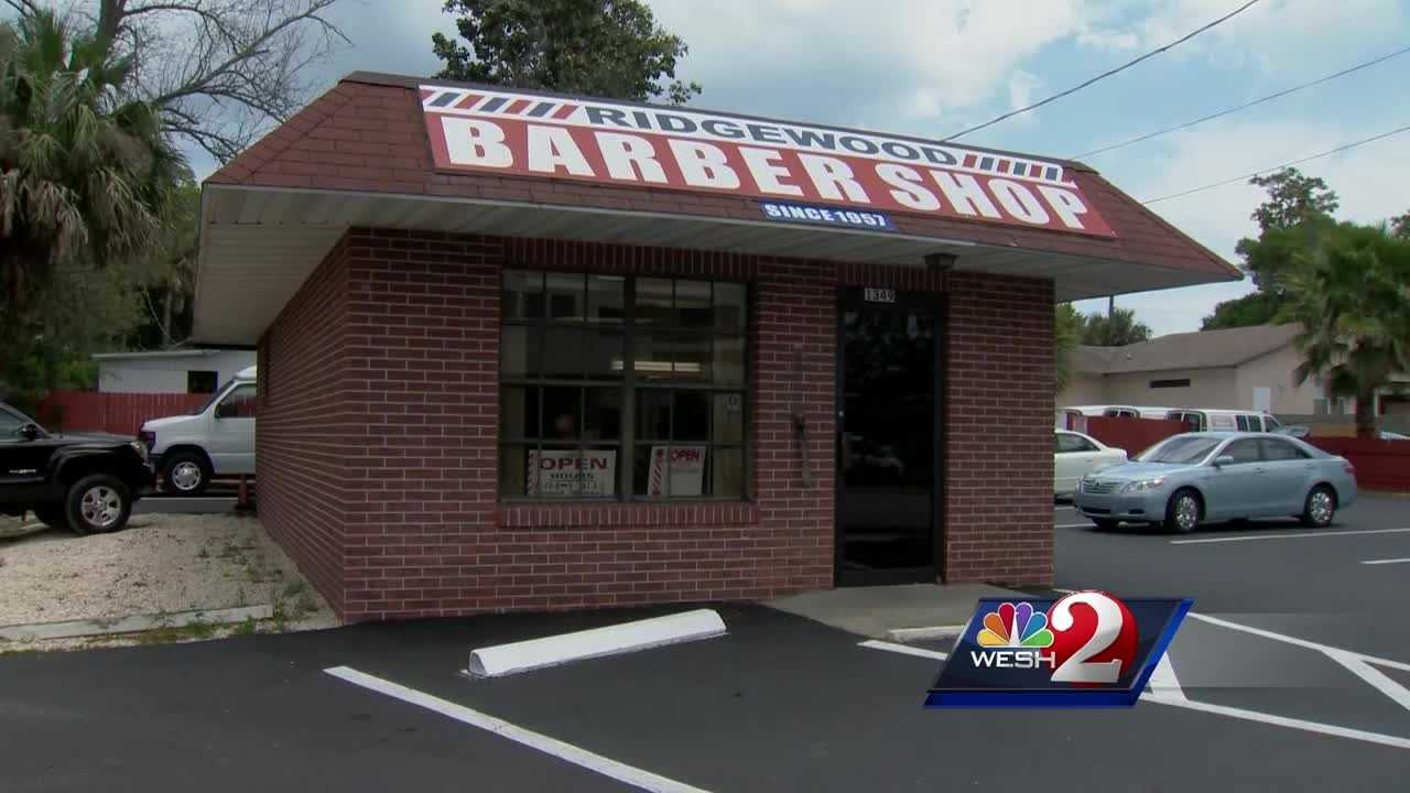 A decades-old barber pole was stolen from a family business in Holly Hill. Claire Metz @clairemetzwesh) has the story.