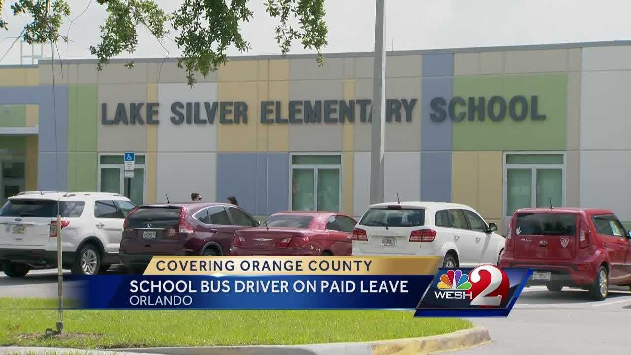 An Orange County school bus driver is on paid leave pending an internal investigation. The district cannot comment on the allegations, but a family is. Gail Paschall-Brown (@gpbwesh) has the story.