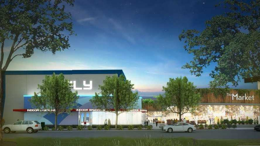 A rendering of iFly Orlando's new location on International Drive, south of Sand Lake Road.