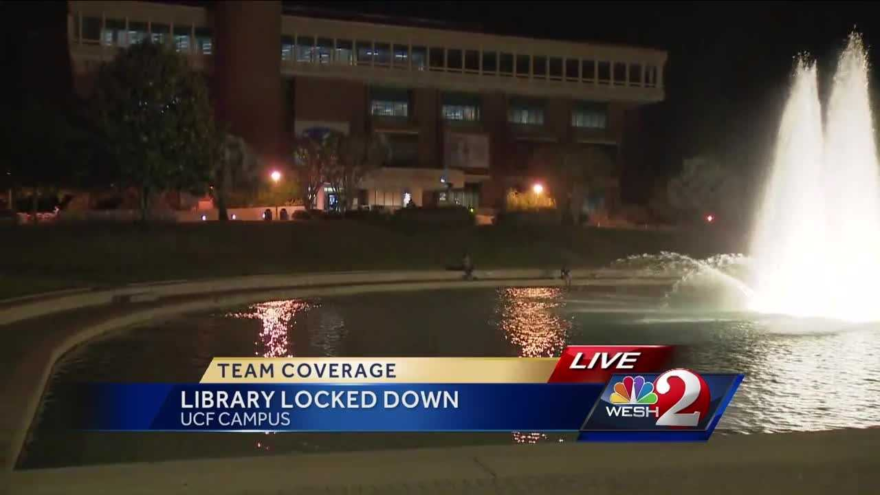 Things are back to normal after a campus scare at the University of Central Florida. Chris Hush (@ChrisHushWESH) explains.
