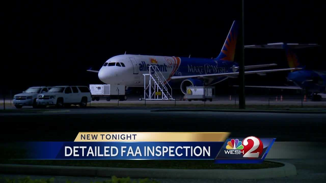 Allegiant Airlines finds itself at the center of a detailed FAA inspection. It's sparked by safety concerns surrounding the airline, which has a large operation at Orlando Sanford International Airport. Chris Hush reports.