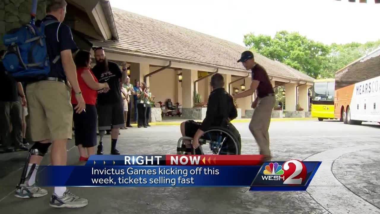 This weekend marks the beginning of the Invictus Games in Orlando. It's a celebration of heroes from around the globe, and the public is welcome to take part in the festivities. Jazmin Walker reports.