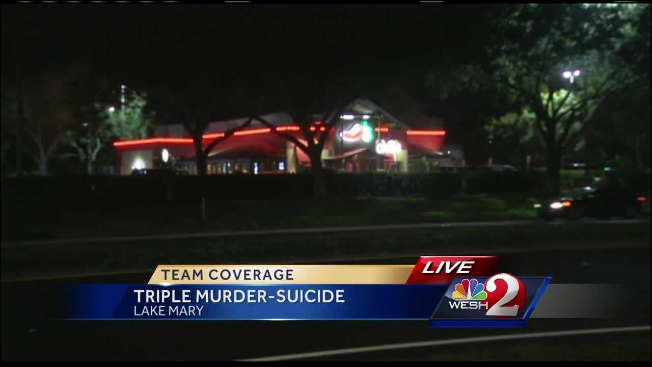 New evidence was released Thursday in a triple murder-suicide that happened in Seminole County. Matt Lupoli speaks to witnesses in Lake Mary.