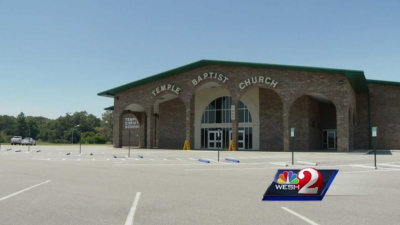A landscaper was killed after he was run over while spreading mulch outside a Titusville church, authorities said.