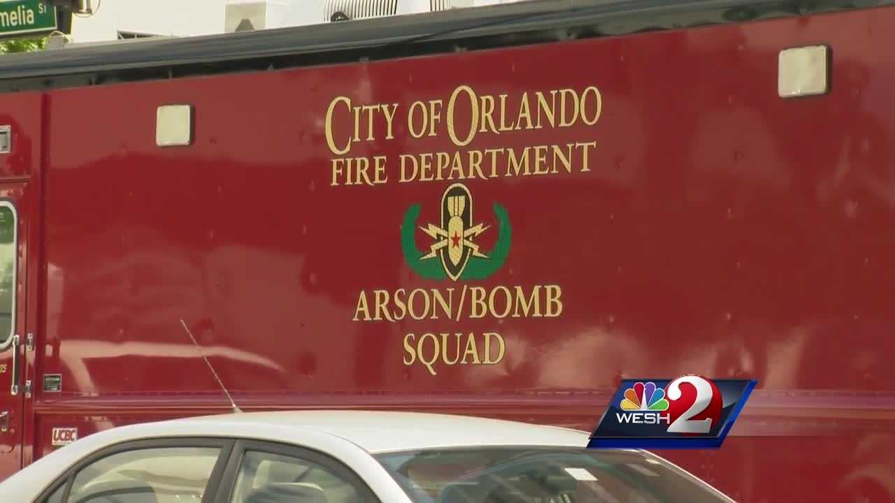 Orlando Fire's bomb squad responded to reports of several suspicious packages at the courthouse Tuesday. Around 5 p.m., crews investigated and said they found no hazards at the scene. Matt Grant reports.