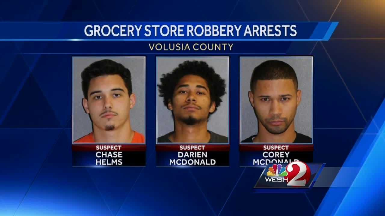 Tips from the community and a quick response from law enforcement put three men behind bars. Deputies say they had just robbed a convenience store. Claire Metz reports.