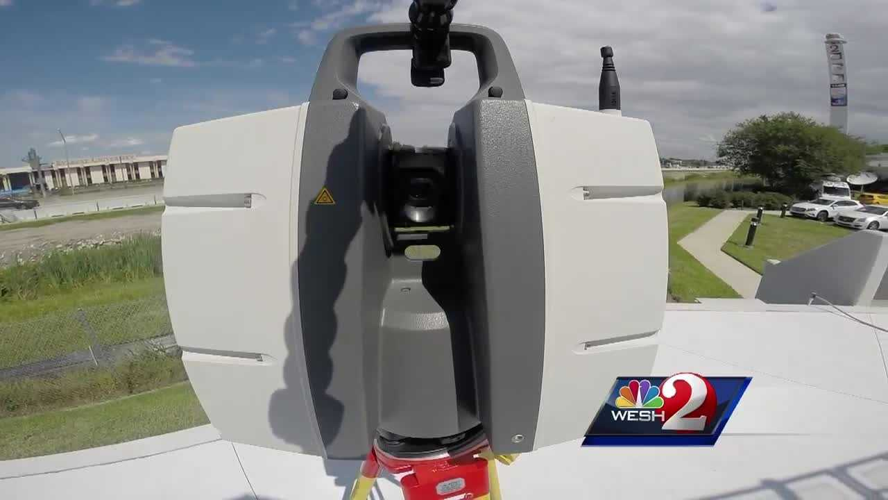 WESH 2 News is helping drivers get through traffic jams more quickly. New technology has been released, designed to reopen roads faster after crashes. It's a 3-D laser scanner. Greg Fox (@GregFoxWESH) has the story.