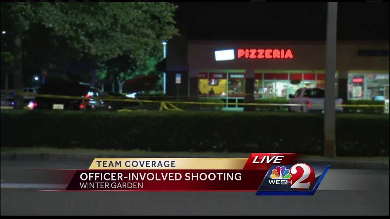 An officer was hospitalized after a shooting in Winter Garden on Friday. Chris Hush (@ChrisHushWESH) brings us the latest update.