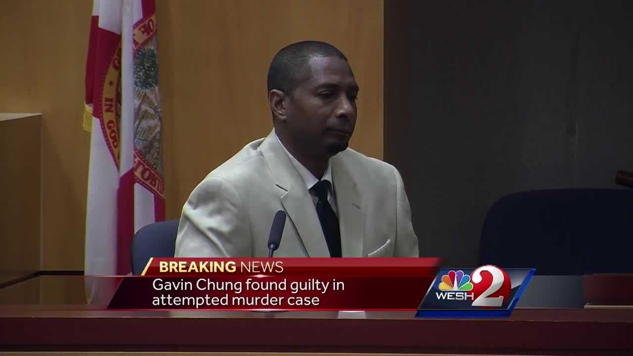 The jury has returned a verdict in the attempted murder trial of a man accused of trying to kill his girlfriend. Jim Payne reports.