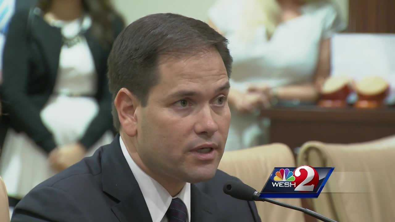 An apartment complex that's being called one of the worst in Orlando by the city's code enforcement office is now catching the eye of Florida Senator Marco Rubio. Greg Fox reports.