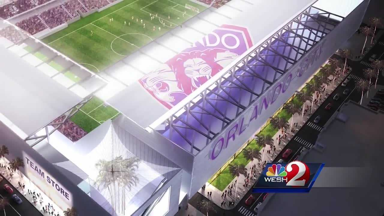 The plan to raise more than $150 million to build Orlando's new soccer stadium is raising some eyebrows. The owners of the Orlando City Lions are looking to foreigners to raise the cash and they are offering green cards in return. Amanda Ober reports.