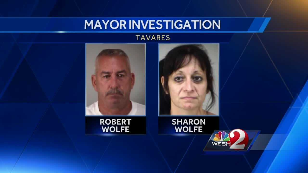 The trouble keeps popping up for Mayor Robert Wolfe of Tavares. He was able to dodge a criminal charge, but now his wife has been arrested, accused of lying about a domestic dispute case. Greg Fox has the story.