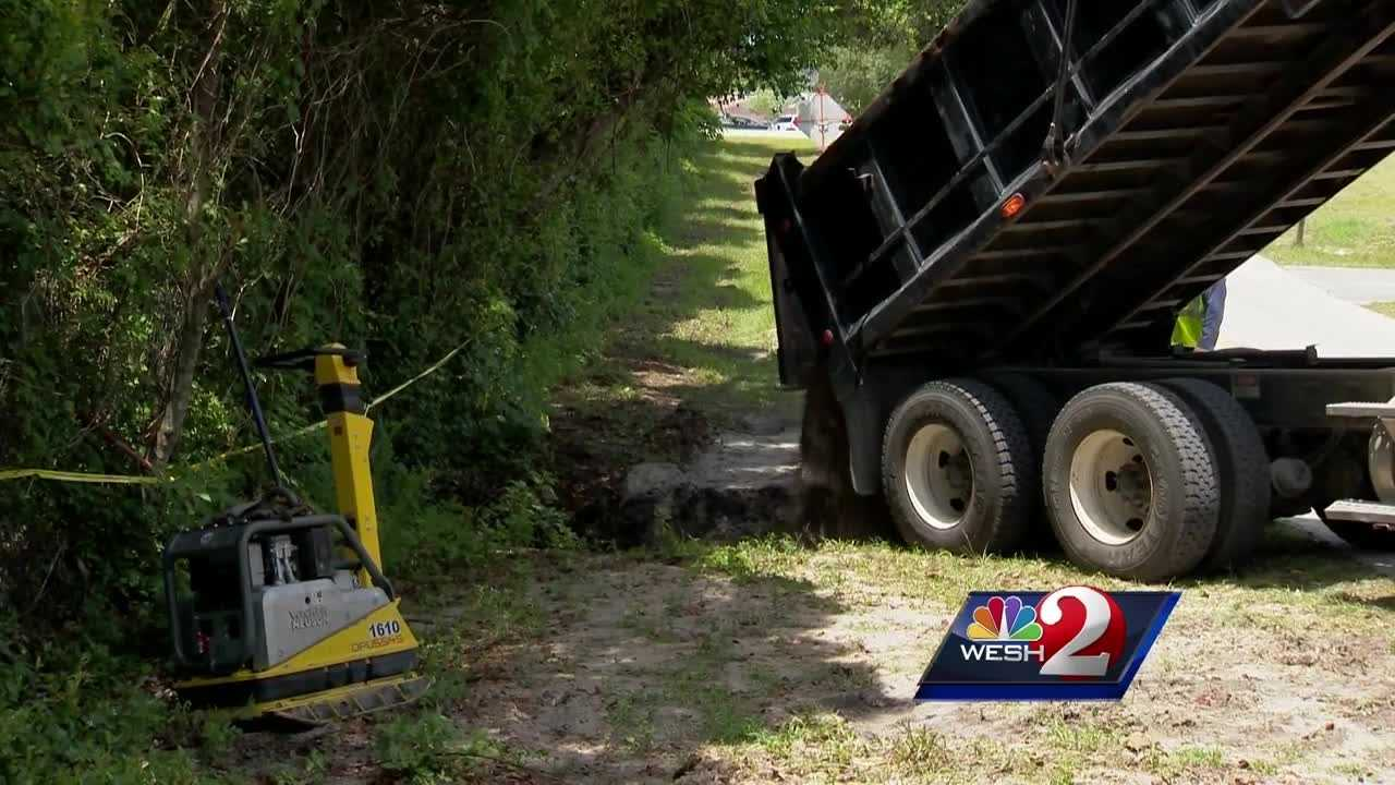 Tuesday's heavy rains proved to be messy for a lot of people in Central Florida. Lots of roads flooded, but the situation was a bit more serious in Deltona. Claire Metz explains.