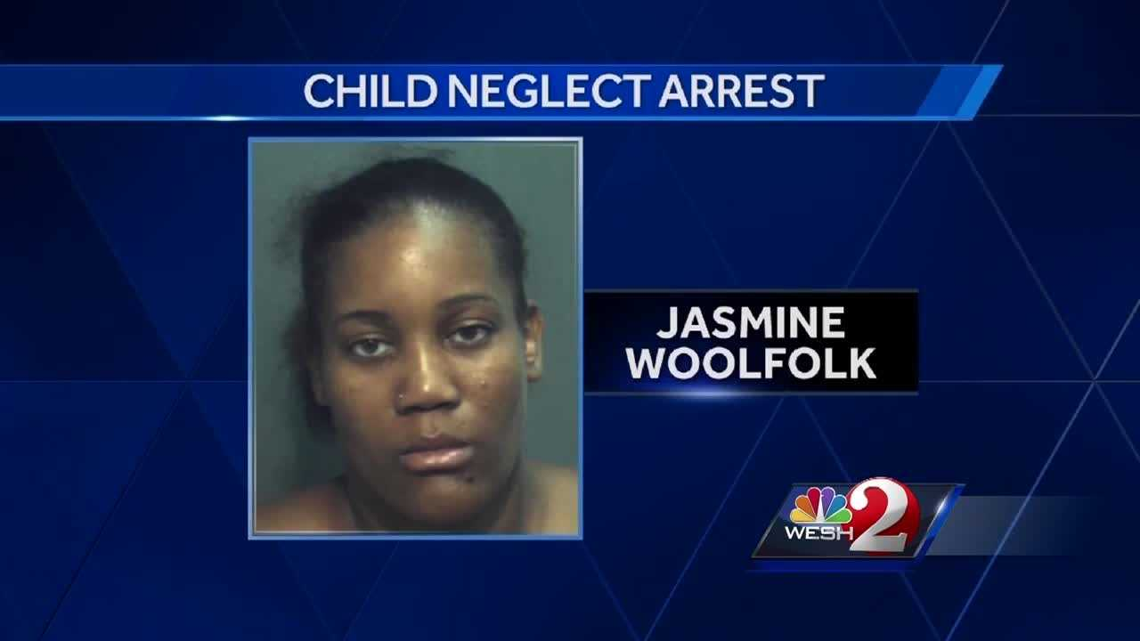 A local woman, charged with child neglect, is talking to WESH 2 News. Jasmine Woolfolk was arrested after her 5-year-old son was found all alone, sleeping next to a church dumpster. Chris Hush (@ChrisHushWESH) has the story.