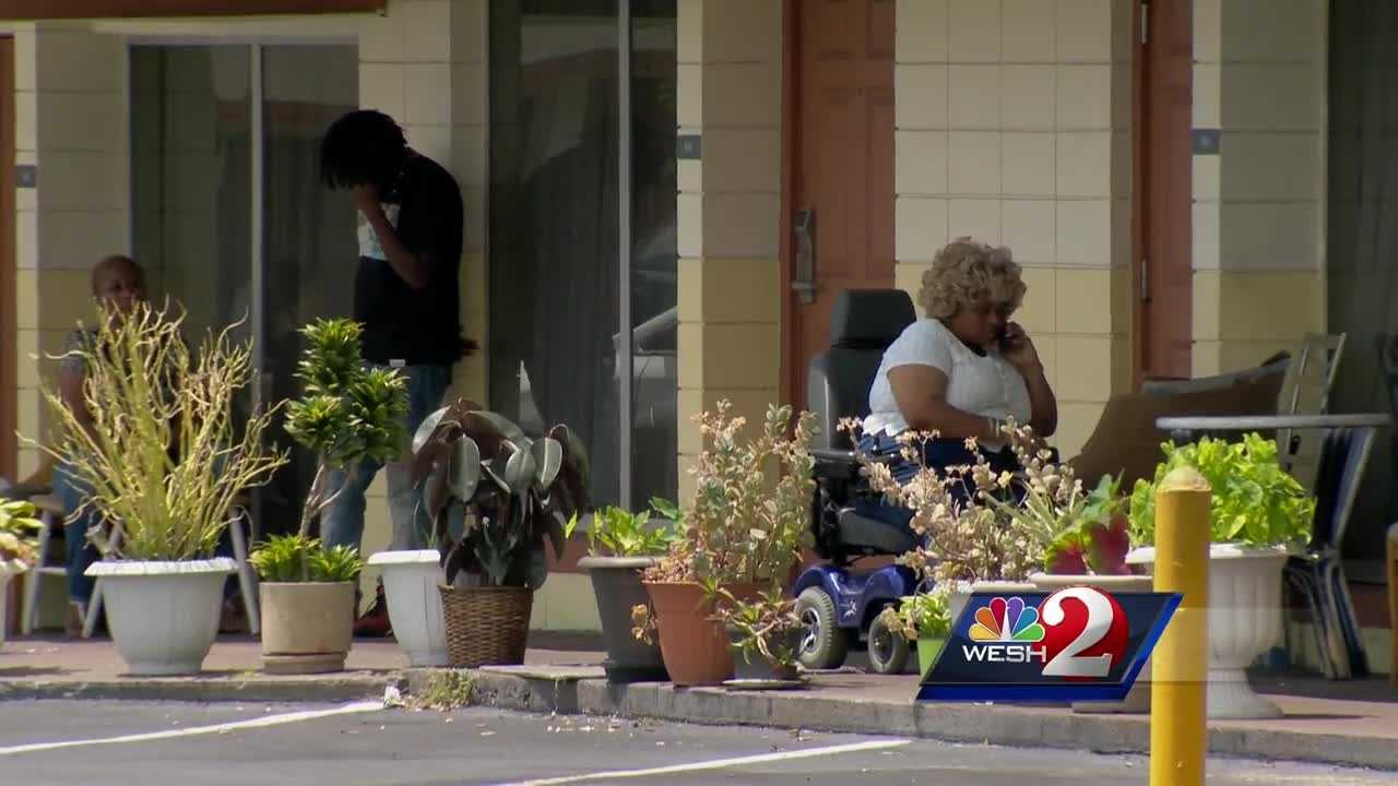 WESH 2 News is hearing from residents of a local motel where many people live long-term. Residents said earlier this week, the entire community was told they'd have to move out by the end of May. Michelle Meredith (@MichelleWESH) has the story.