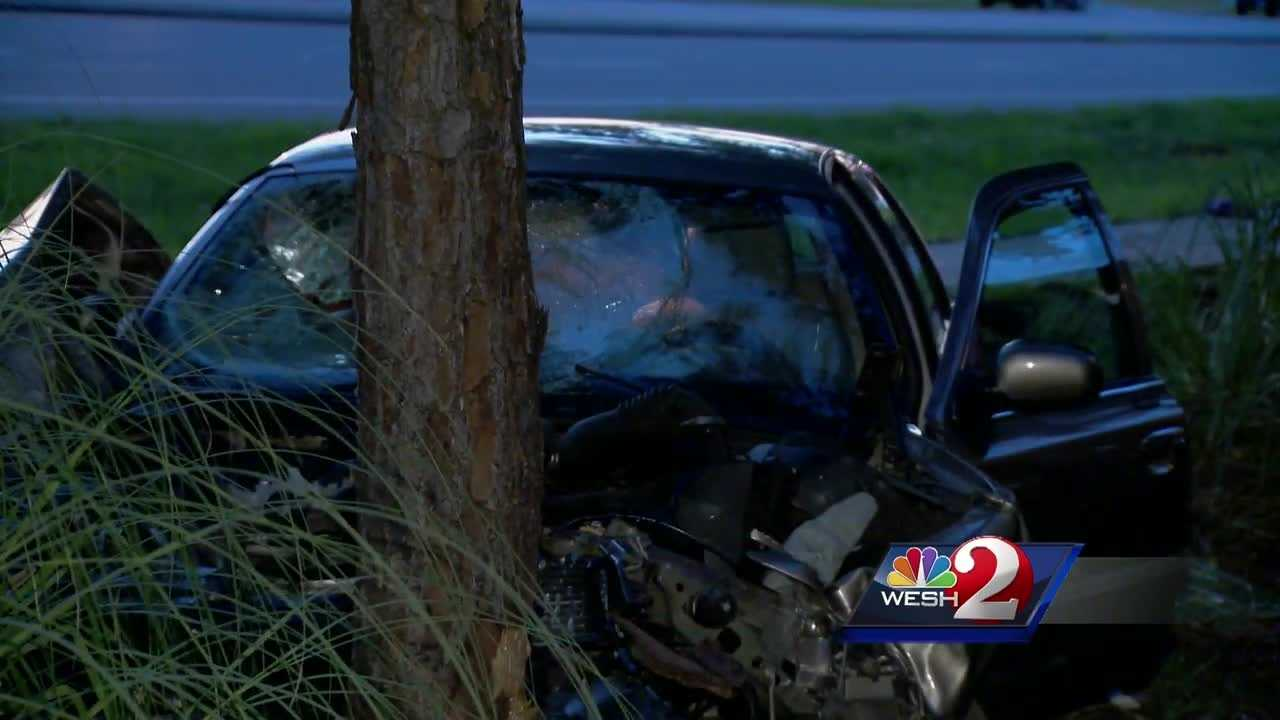A 21-month-old was killed and the child's mother was injured in a crash in Daytona Beach Monday, according to police. The driver that allegedly struck the victims was identified as Ray Beams, 85, who suffers from Alzheimer's. Summer Knowles reports.