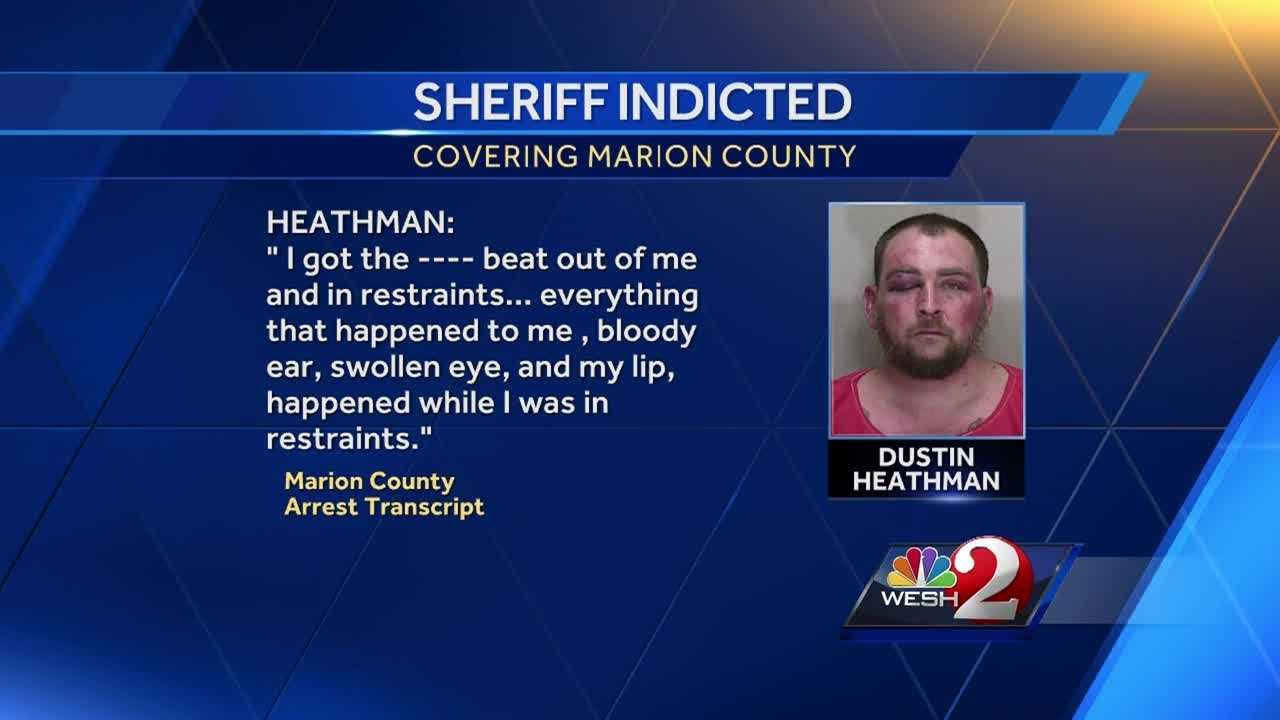 There's a new twist in the ongoing trouble for former Marion County Sheriff Chris Blair. He was arrested last week, charged with lying to a grand jury. Gail Paschall-Brown has the new details.