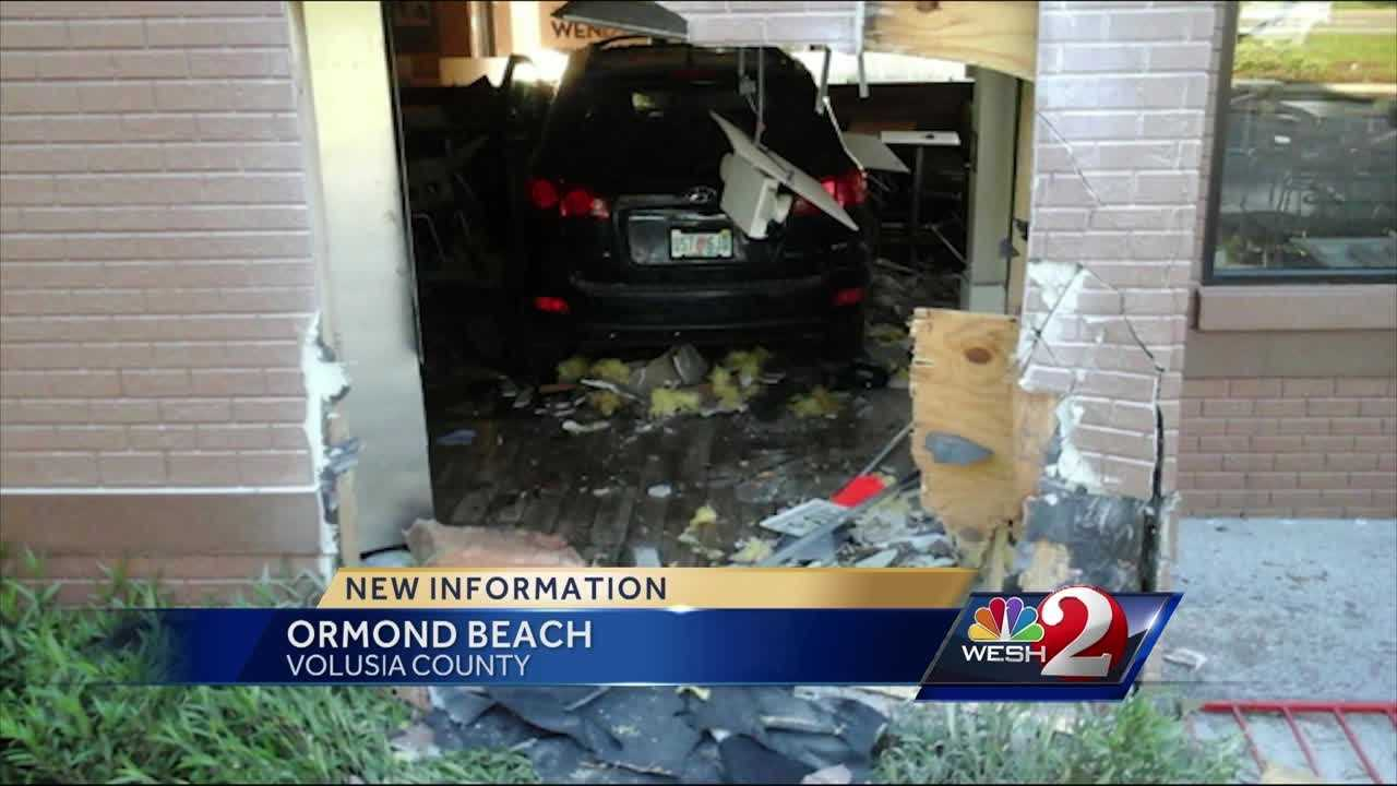 A newspaper delivery driver was killed early Wednesday when he crashed into an Ormond Beach Wendy's restaurant, police say. Claire Metz (@clairemetzwesh) has the latest update.