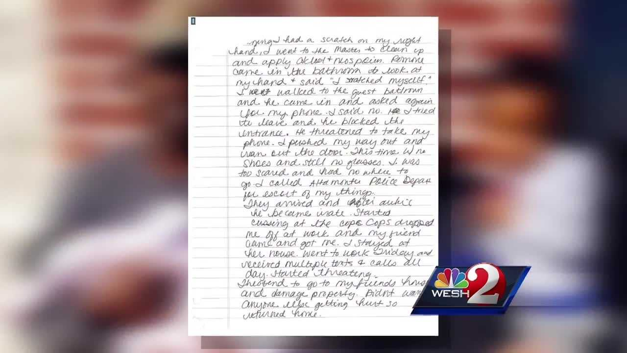 WESH 2 News is getting a deeper look into what led up to a family triple murder. A murder victim's journal documents months of abuse at the hands of the man who killed her and their children -- her husband. Summer Knowles reports.