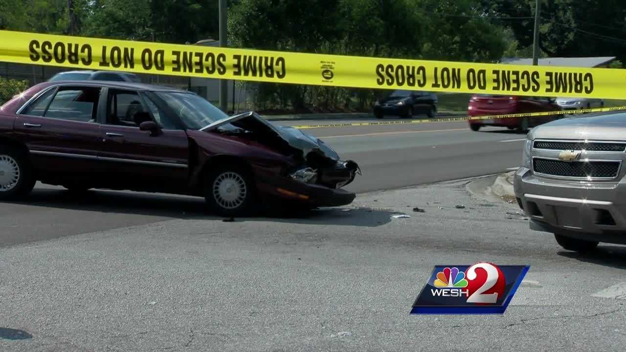 An Orange County deputy's unmarked SUV collided with another car in Pine Hills Wednesday. Chris Hush has the latest update.