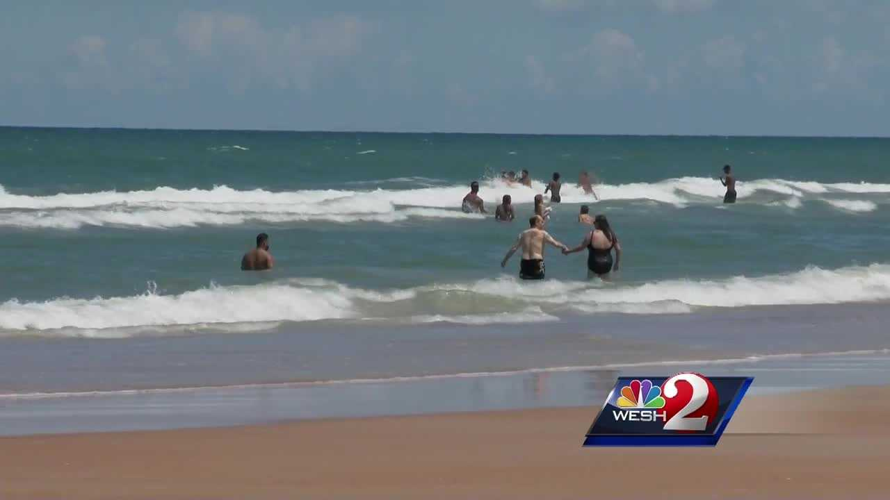 Preparations are underway in Volusia County to keep swimmers and beachgoers safe from hazardous rip currents. Claire Metz reports.