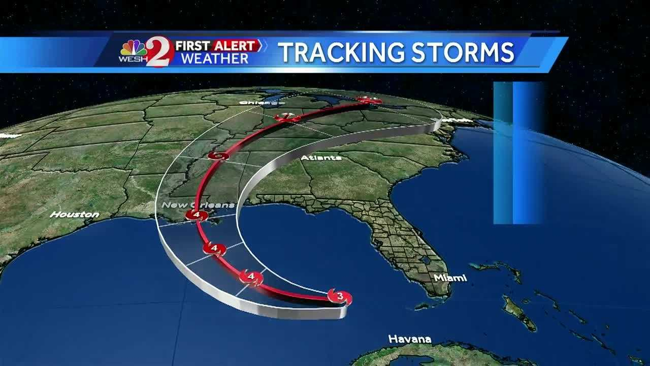 Once a storm forms, the National Hurricane Center puts out their official track forecast cone. First Alert Meteorologist Amy Sweezey explains.