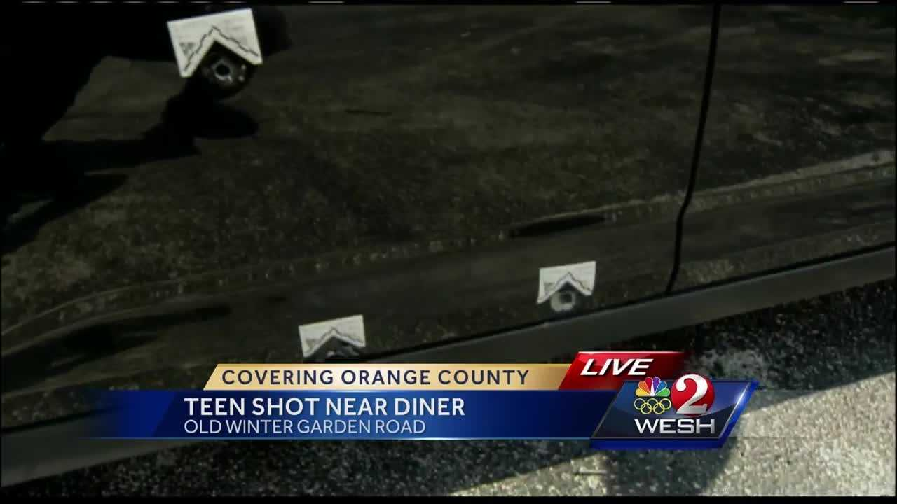 18 year old woman injured in drive by shooting