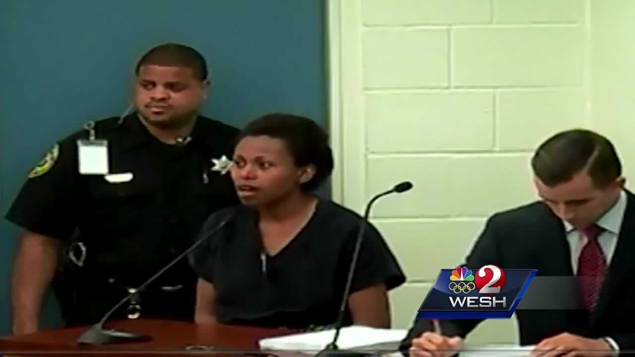 The South Carolina mother who drove her three young children into the Daytona Beach surf two years ago is once again behind bars.