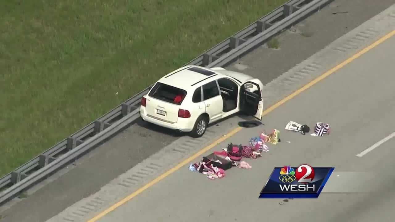 Two people were found dead in a car on Florida's Turnpike. The cause of their deaths is still a mystery. Chris Hush (@ChrisHushWESH) has the latest update.