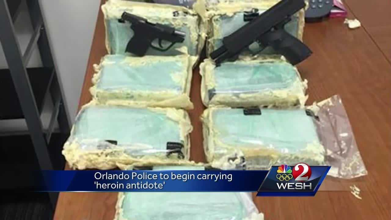 Local police and deputies are carrying a lifesaving drug in their patrol cars. Naloxone is called the heroin antidote. Greg Fox (@GregFoxWESH) reports officers are being trained to use it to save lives.
