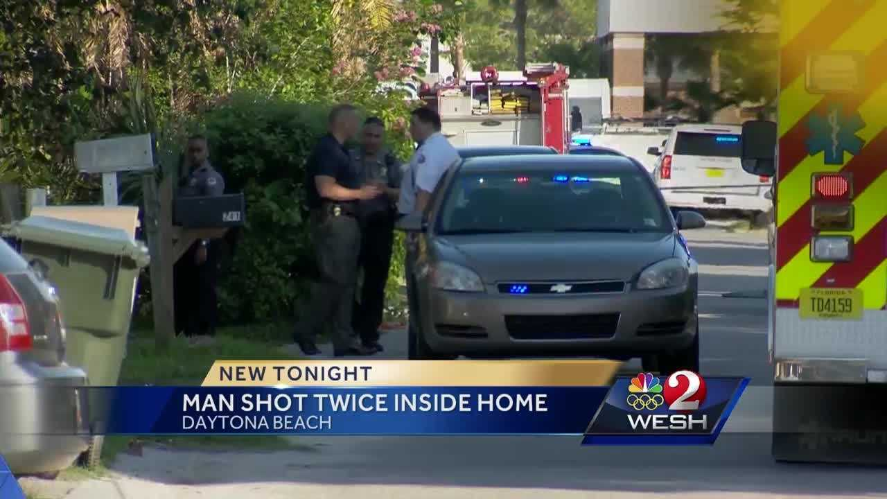 A 22-year-old man was shot in Daytona Beach. It happened around 6:30 p.m. Friday. Angela Taylor reports.