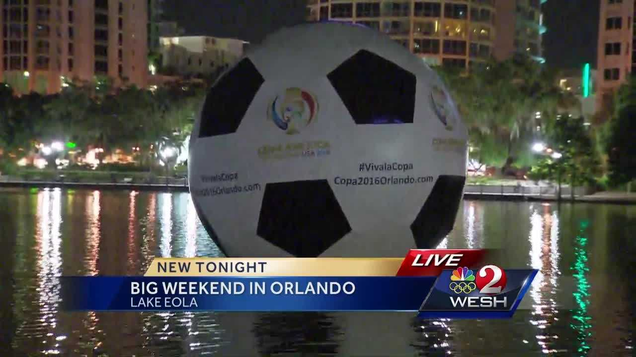 It's a big weekend for The City Beautiful. Orlando is hosting two huge events and they're drawing hundreds of thousands of people to the area. Matt Lupoli has the latest details.