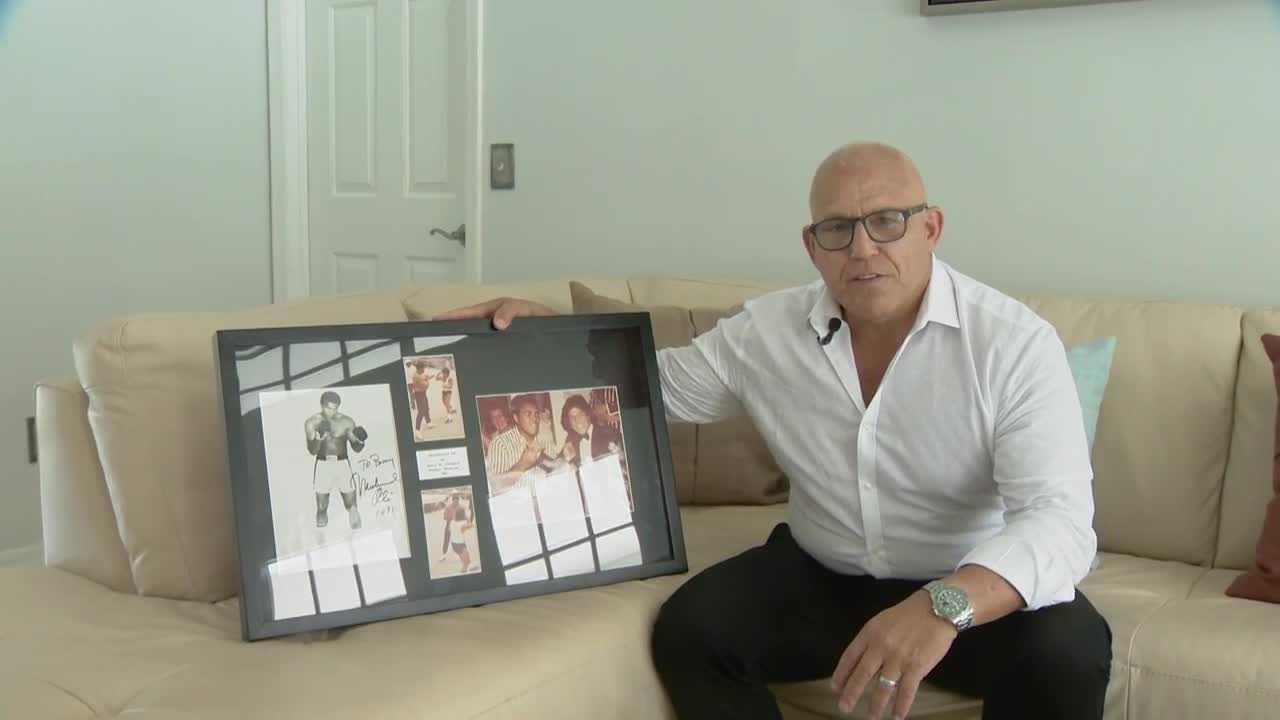 A Central Florida man holds a personal connection to the late boxing legend Muhammad Ali thanks to some time they spent together in the Bahamas about 30 years ago.