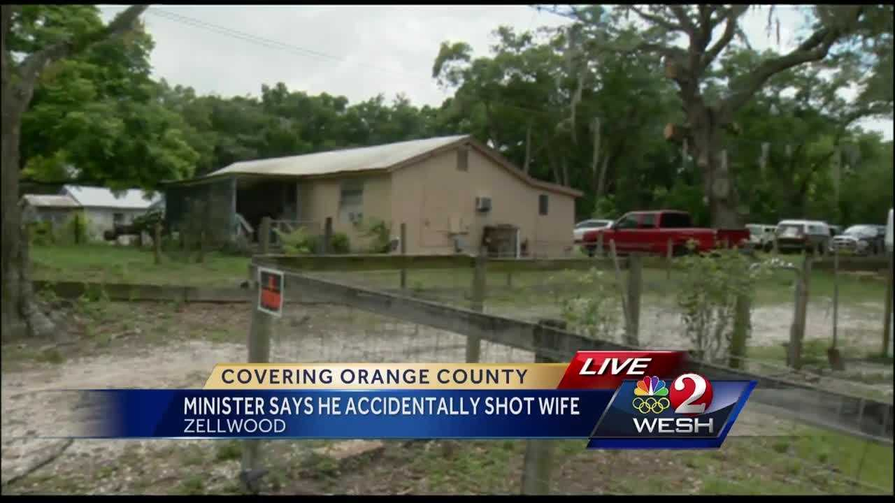 Deputies are investigating after a minister says he accidentally shot his wife in the head. Detectives have identified the couple involved. Bob Kealing reports.