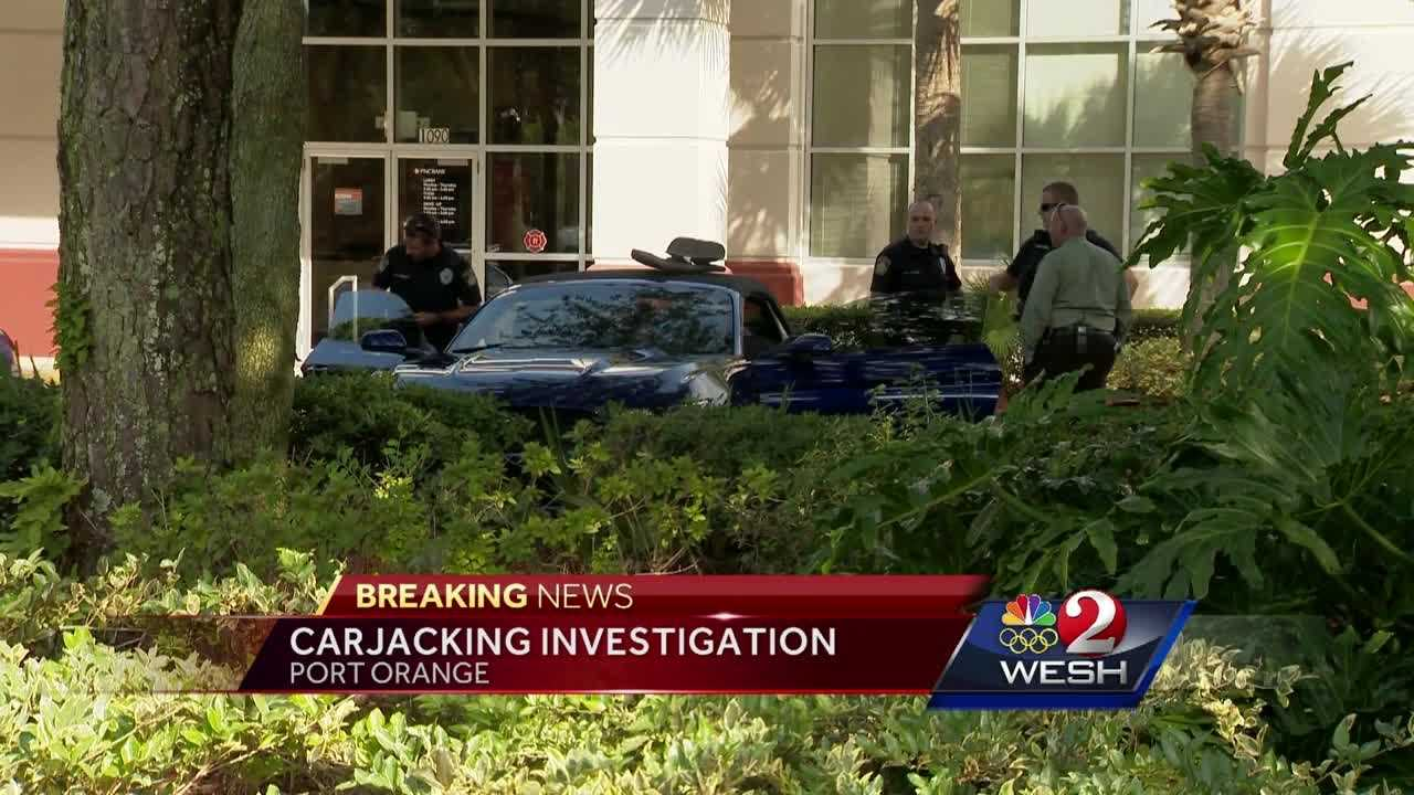 Police said a person was carjacked at a Walmart in Volusia County. One person was taken into custody. Claire Metz (@clairemetzwesh) brings us the latest update.