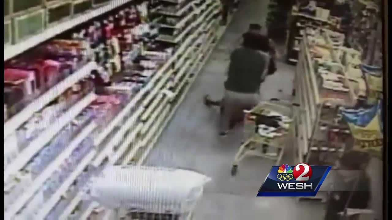A man tries to abduct a 13-year-old Florida girl in a Dollar General store and the incident was caught on camera. Gail Paschall-Brown (@gpbwesh) has the story.