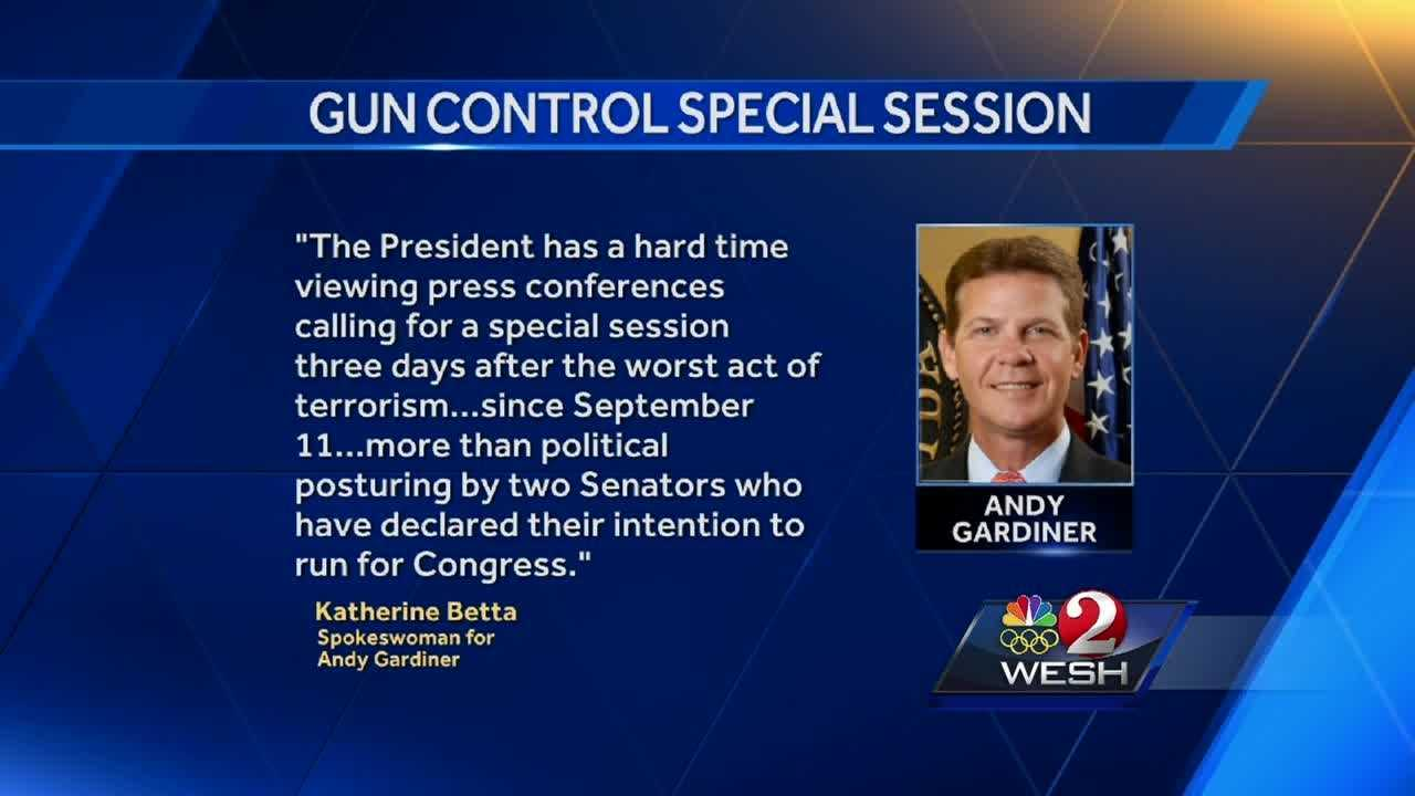 "Some Democratic state lawmakers want a special session to ban gun sales to anyone on a government ""watch list."" Greg Fox reports."