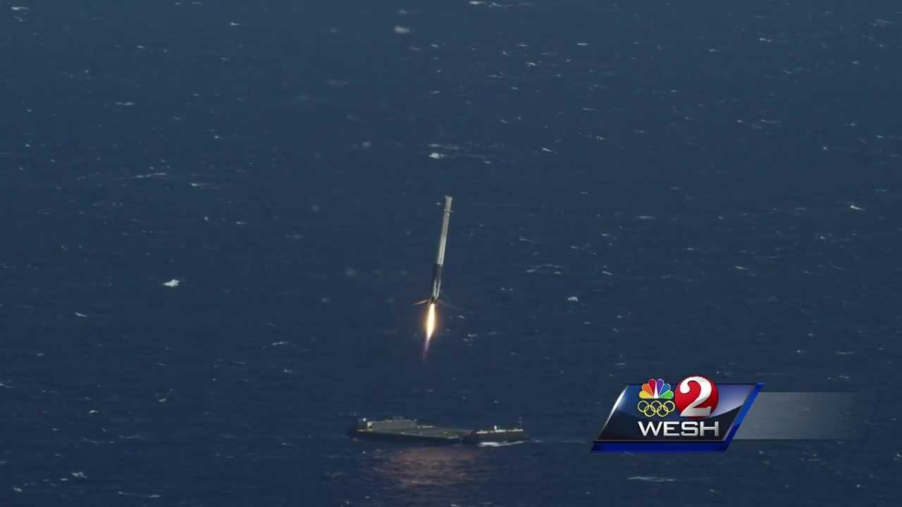 SpaceX is fighting back after Port Canaveral proposed charging the rocket company $15,000 each time it brings a rocket booster back to port.