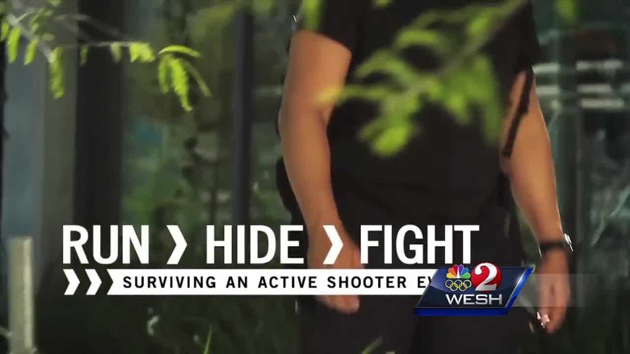 In the aftermath of the Orlando nightclub shooting, police in Daytona Beach are hosting an active shooter workshop for citizens. Claire Metz explains.