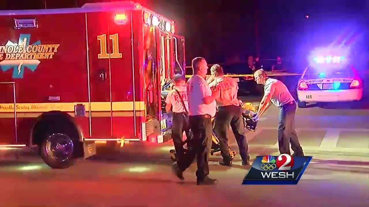 Three people, including a 6-year-old girl, were shot at an apartment complex in Altamonte Springs on Tuesday. Authorities with the Altamonte Springs Police Department said two men opened fire outside the Sealey Apartments. Bob Kealing reports.