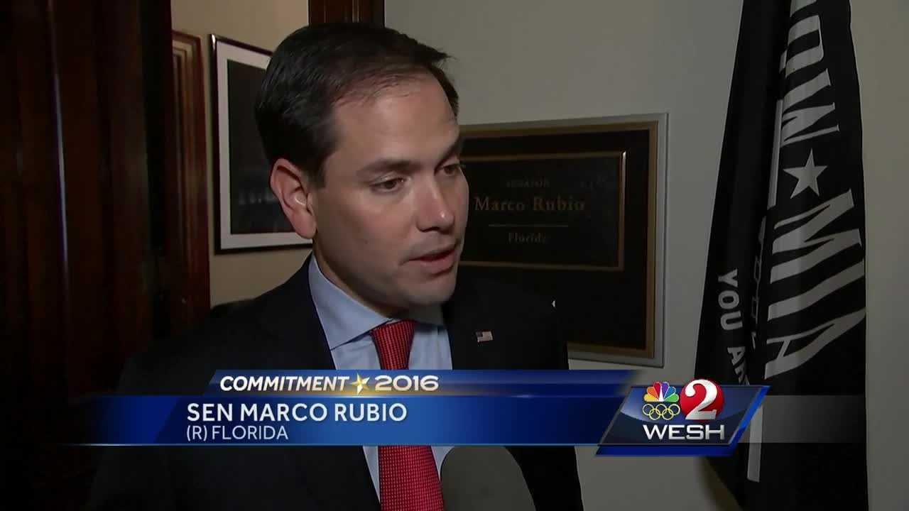 Rubio will run for re-election